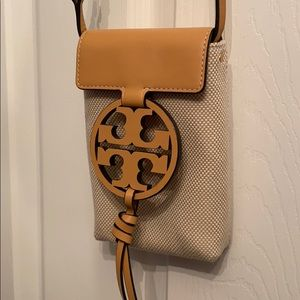 Tory Burch Tan Miller Crossbody